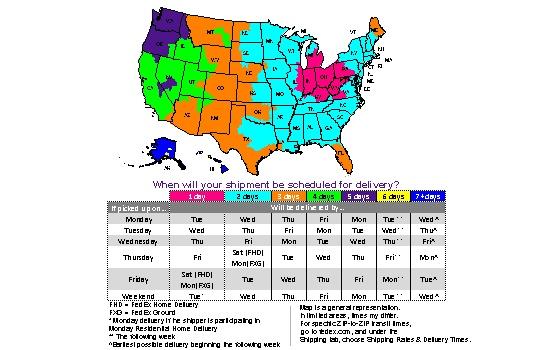 FedEx Transit Map