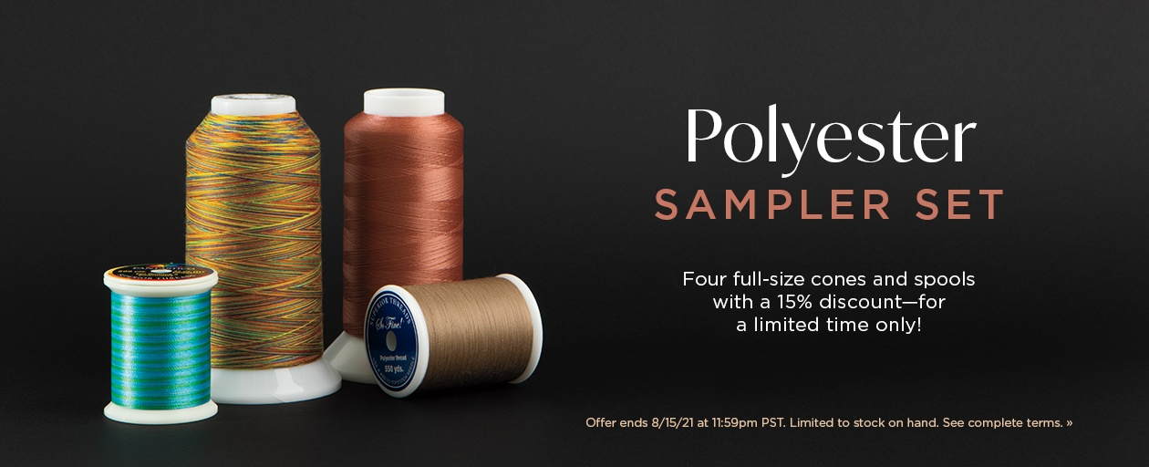 Superior Polyester Sampler Set