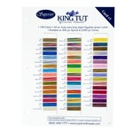 King Tut Cotton Thread Color Card Set