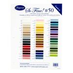 So Fine! Color Card #1
