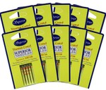 #100/16 Topstitch Titanium-coated Needles Bulk Pack