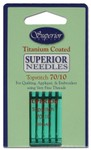 #70/10 Topstitch Titanium-coated Needles