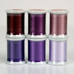 Kimono Silk Collection Purples - 6 Spools