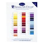 Kimono Silk Color Card #1