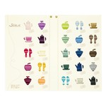 Silk Embroidery Floss Color Card (Book)