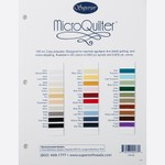 MicroQuilter Color Card