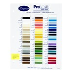 Prolock Color Card