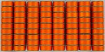 SuperBOBs #639 Bright Orange M-style Bobbins. 1/2