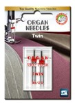 #80/2.5 Twin Universal Needles