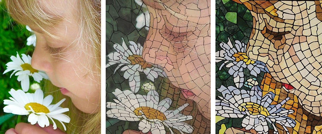 Mosaic Quilting