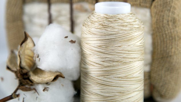 Superior's cotton threads are extra-long staple cotton
