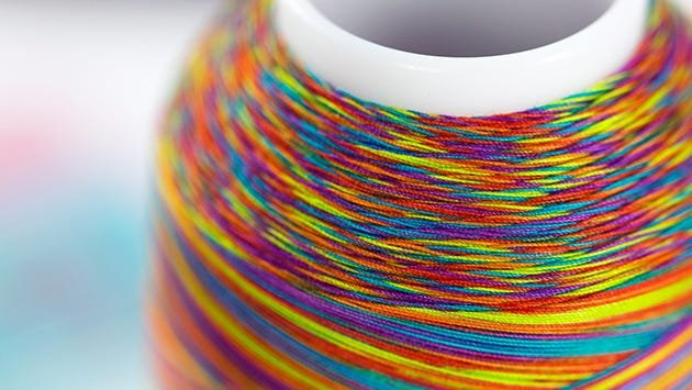 King Tut cotton quilting thread has beautiful color depth