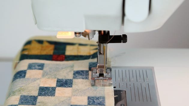 Piecing a quilt block with MasterPiece cotton thread