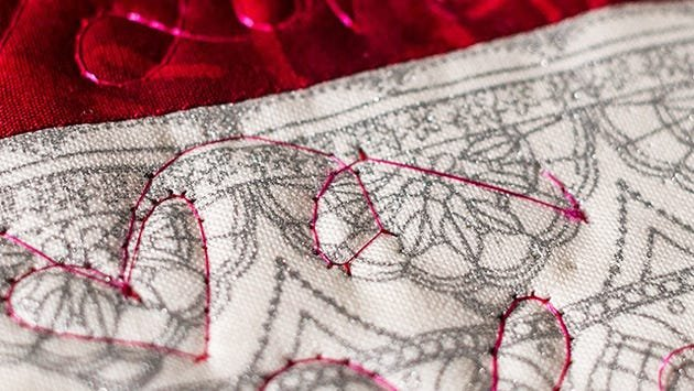 Skipped stitches can be caused by old or worn needles