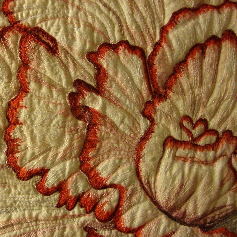 Begonia Picotee Lace Detail