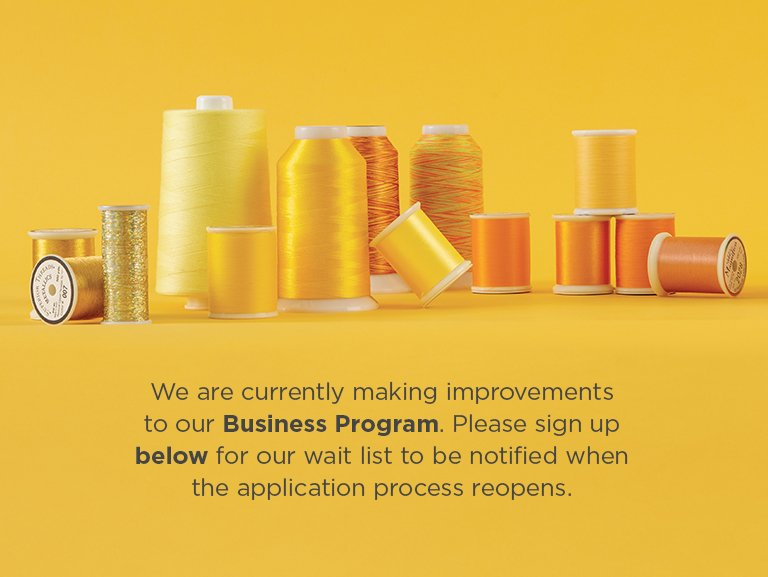We are currently making improvements to our Wholesale Program. Please sign up for our wait list to be notified when the application process reopens.